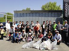 天竜川における清掃活動 イメージ1